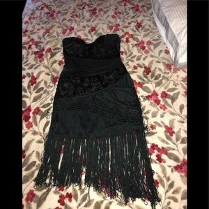 BeBe halter cocktail Dress